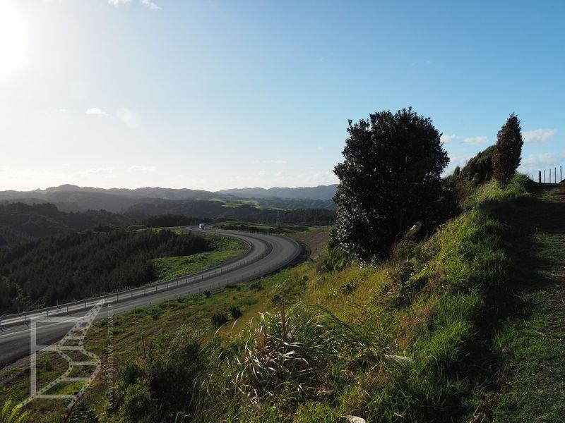 Widok ze Scenic View - Wyspa Północna