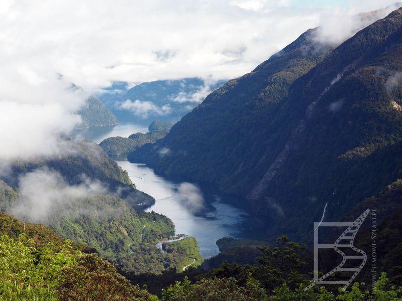 Widok na Doubtful Sound