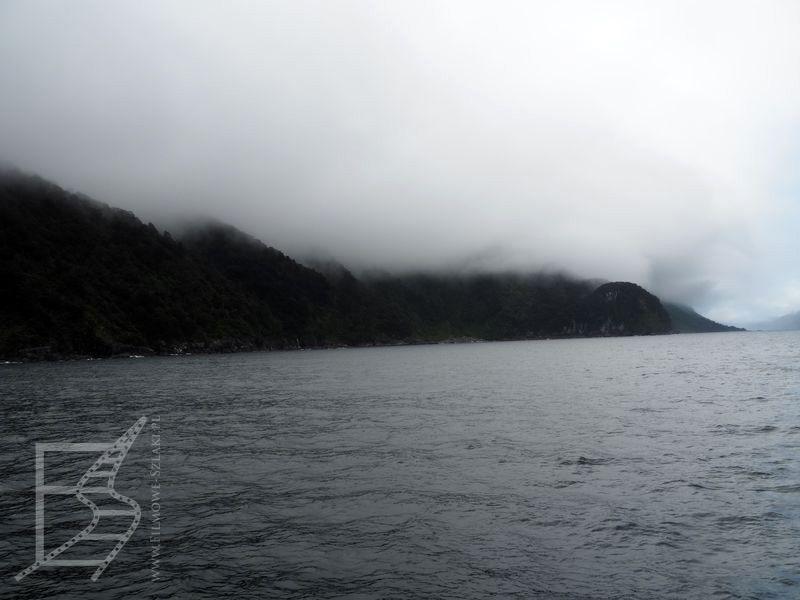 Chmury - typowy widok w Doubtful Sound
