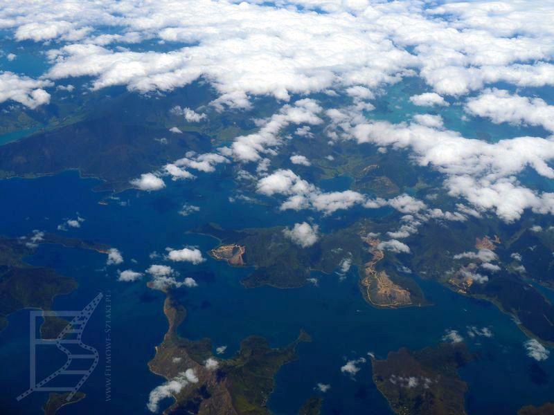 Nowa Zelandia z lotu ptaka
