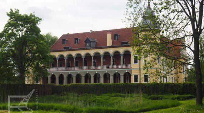 Krobielowice, pałac marszałka Bluchera