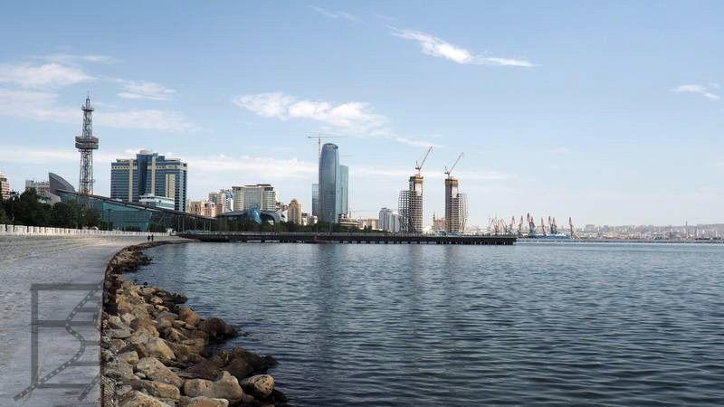 Bulwar w Baku