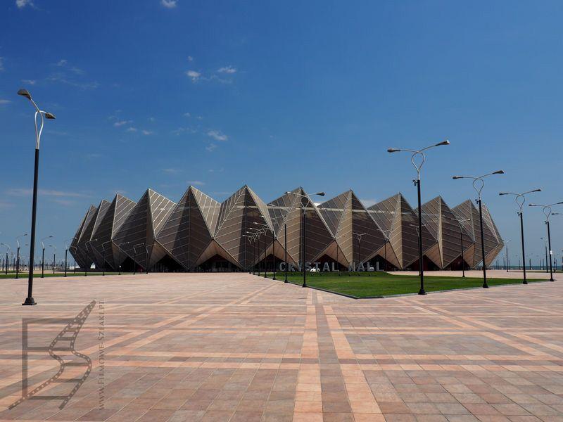 Kryształowy Hol (Crystal Hall) zbudowany na potrzeby Eurowizji