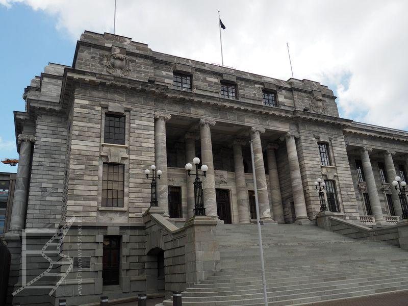 Budynek przy parlamencie