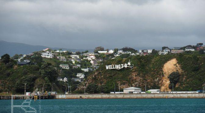 Wellington i Weta Cave