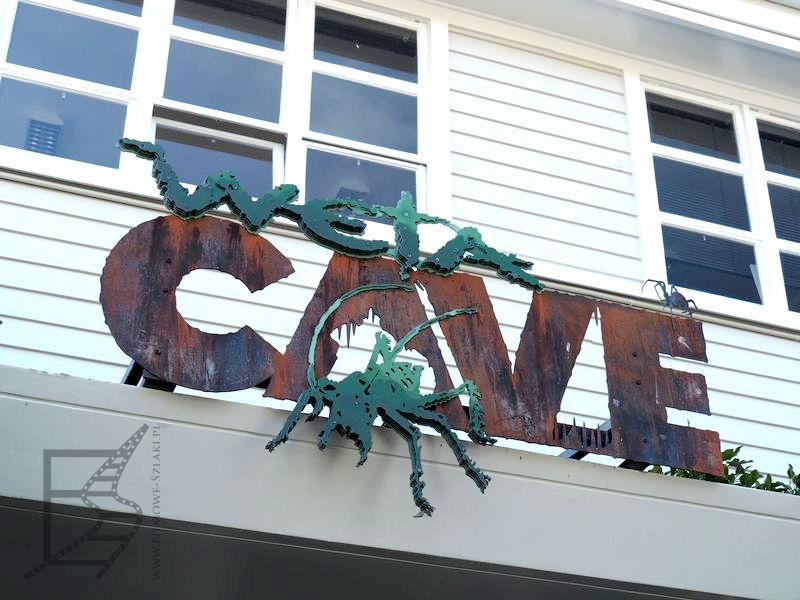 Wejście do Weta Cave