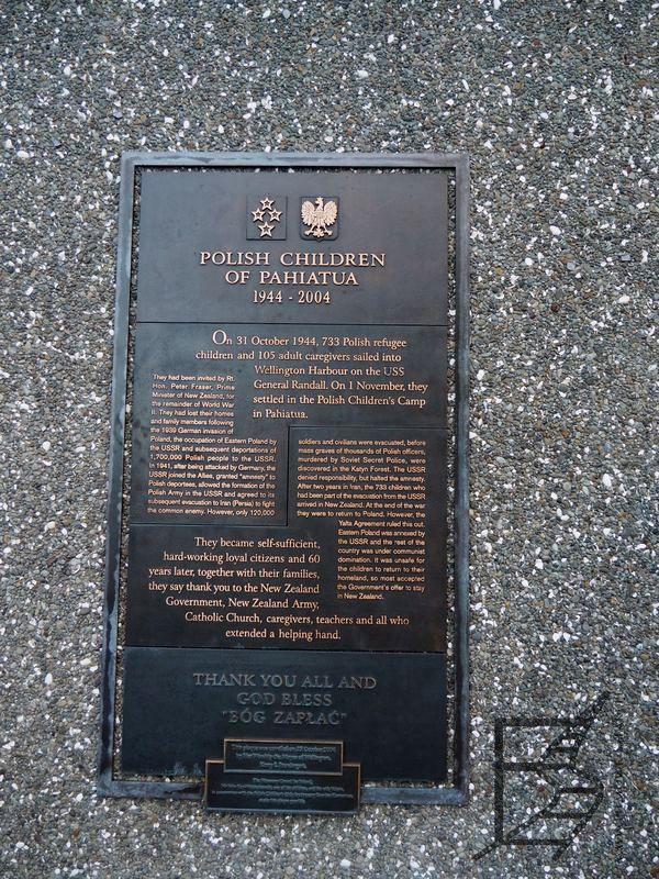 Tablica upamiętniająca Polaków