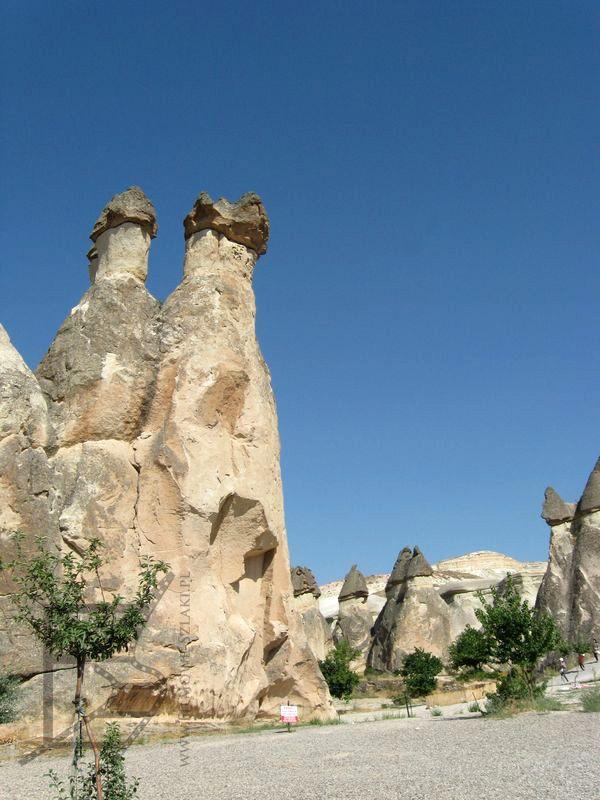 Słupy w Kapadocji