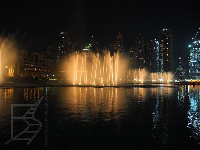 Fontanna w Dubai Downtown