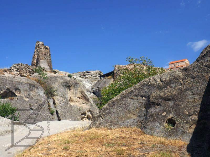 Skały i skalne miasto oraz cerkiew w Uplistsikhe