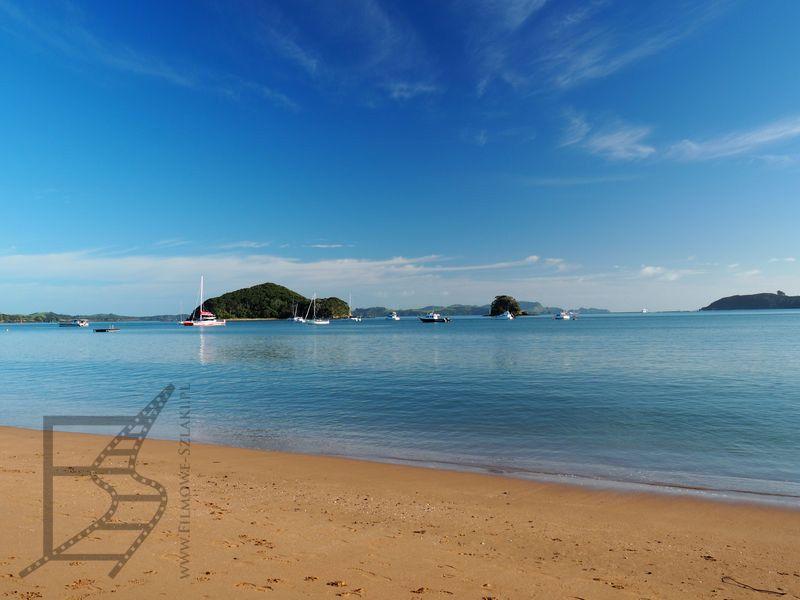 Plaża w Paihia