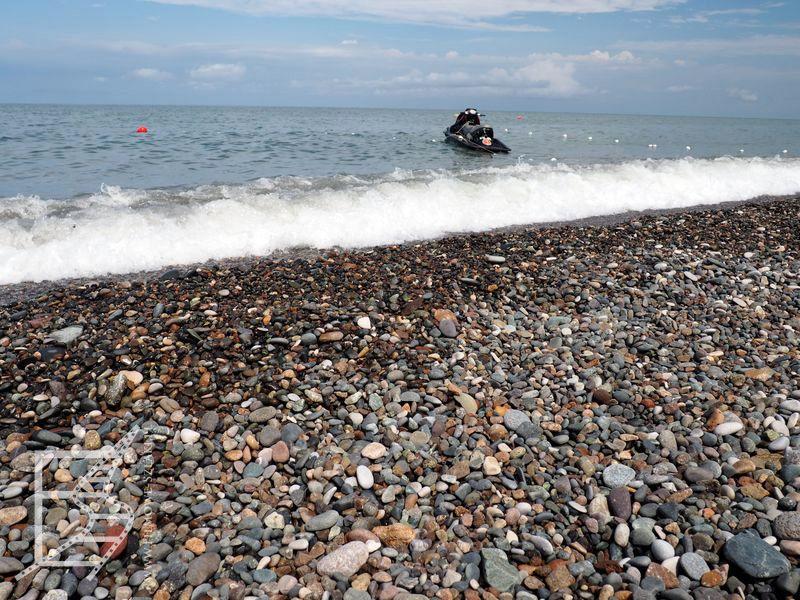 Plaża nad Morzem Czarnym