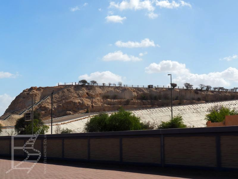 Wzgórze Al Nagfa i dobry punkt widokowy