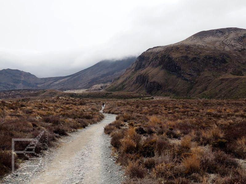 Tongariro - początek Apline Crossing