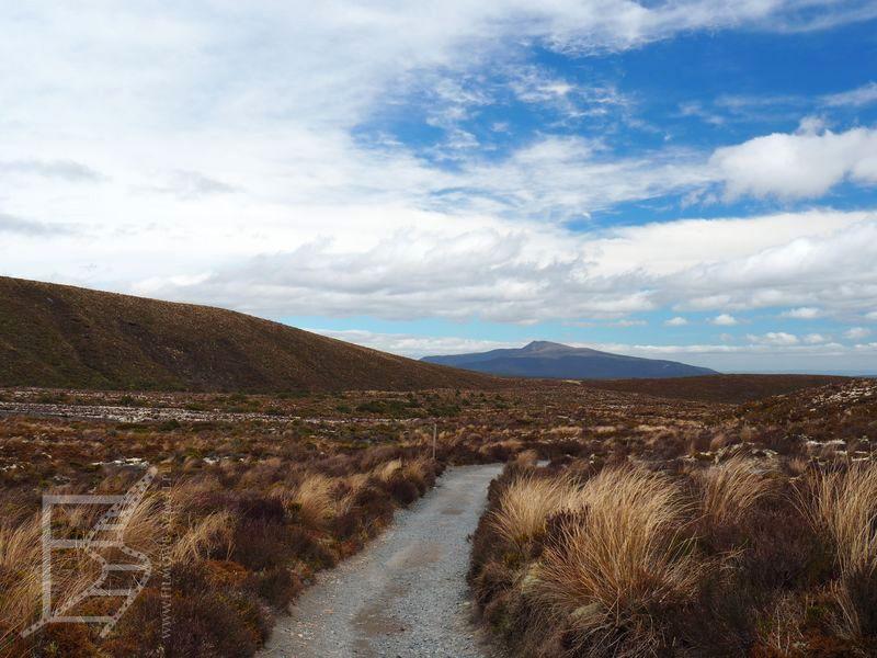 Ścieżka w Tongariro