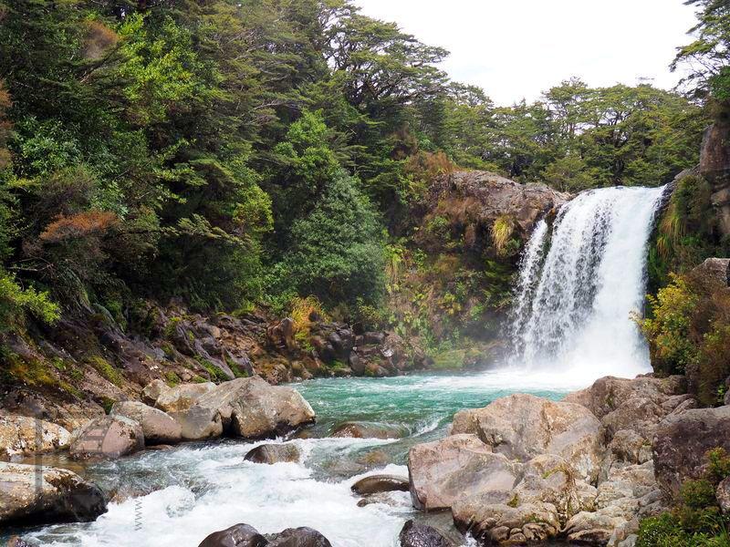 Wodospad Tawhai