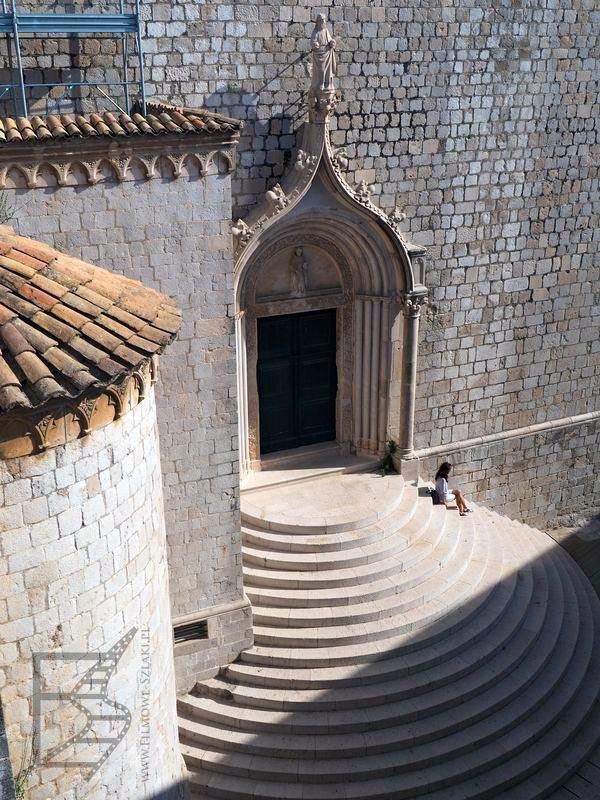 Fragment ulicy św. Dominika widziany z murów