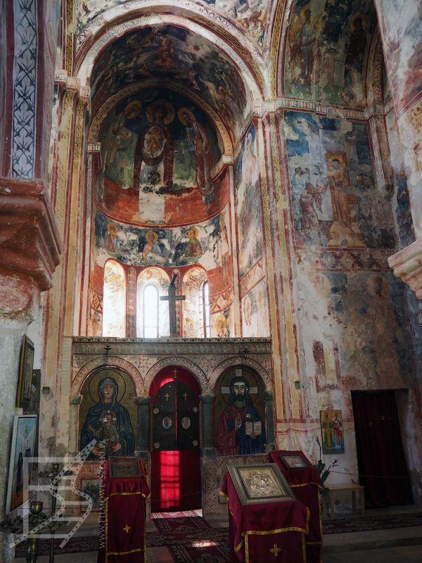 Wnętrza klasztoru