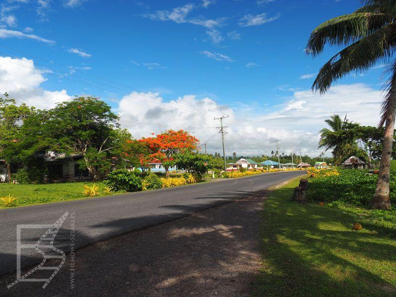 Droga przez Samoa
