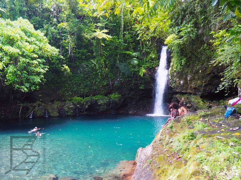 Wodospad Afu Aau