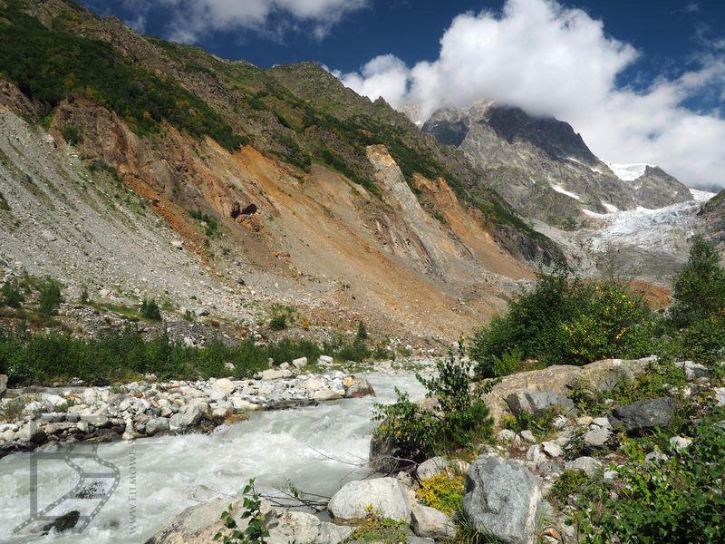 Okolice lodowca Chalaadi