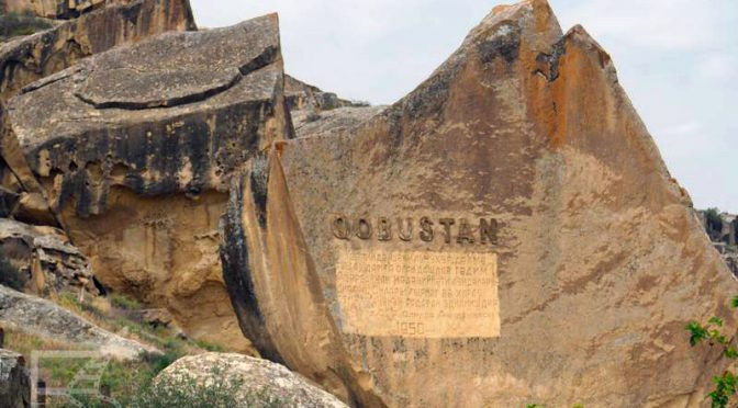 Park Narodowy Gobustan / Qobustan i petroglify