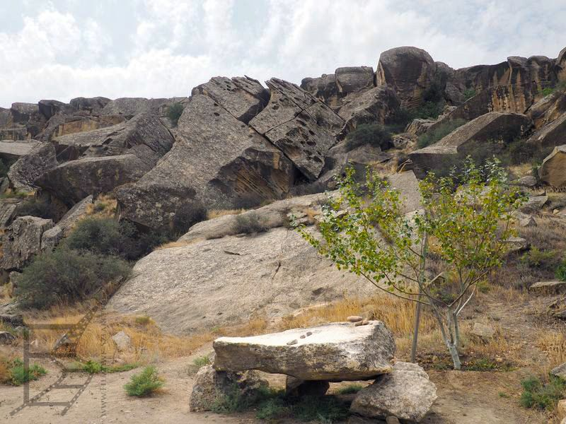 Qobustan - skały