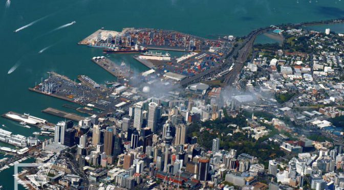 Auckland, największe miasto Nowej Zelandii