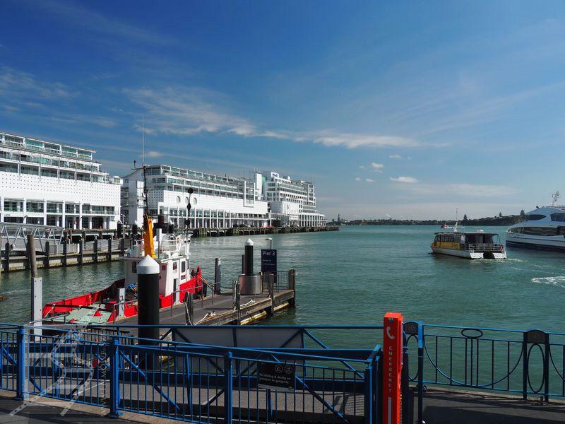 Port w Auckland