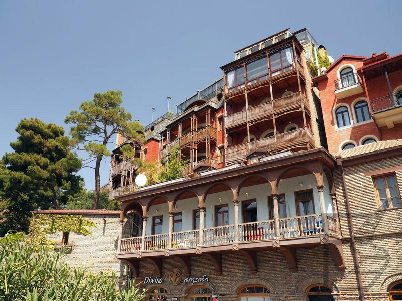Balkony w Tbilisi