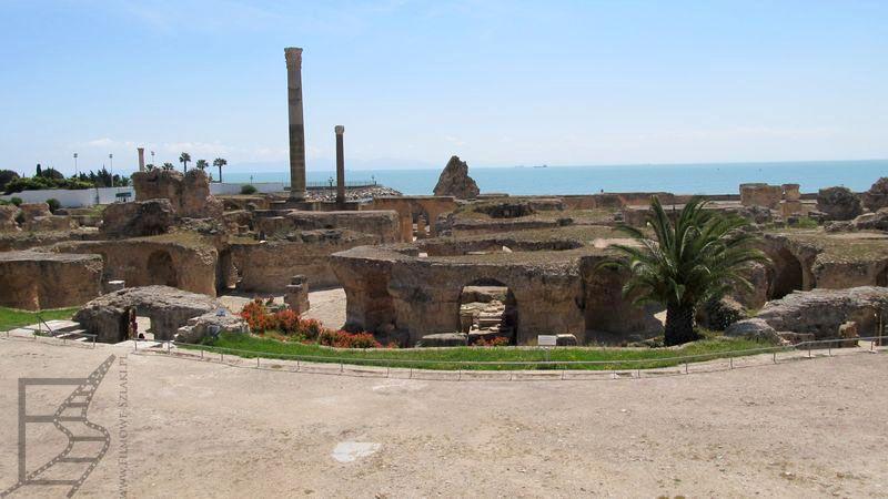 Widok na Kartaginę