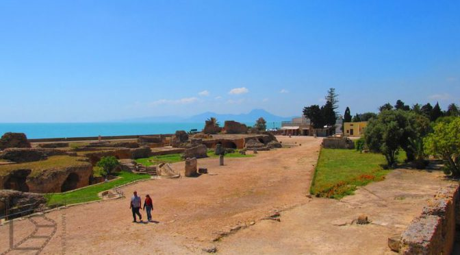 Kartagina, ślad jednak pozostał, w Tunezji