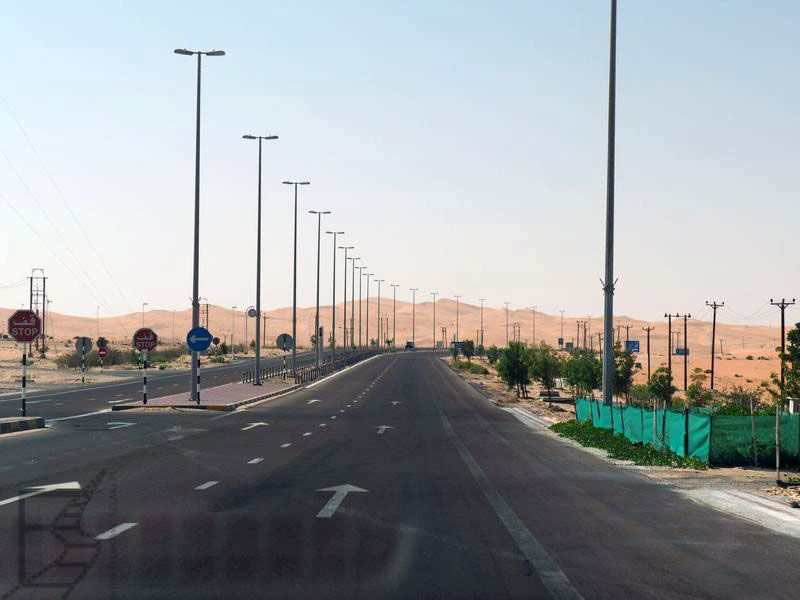 Zadbane drogi w ZEA