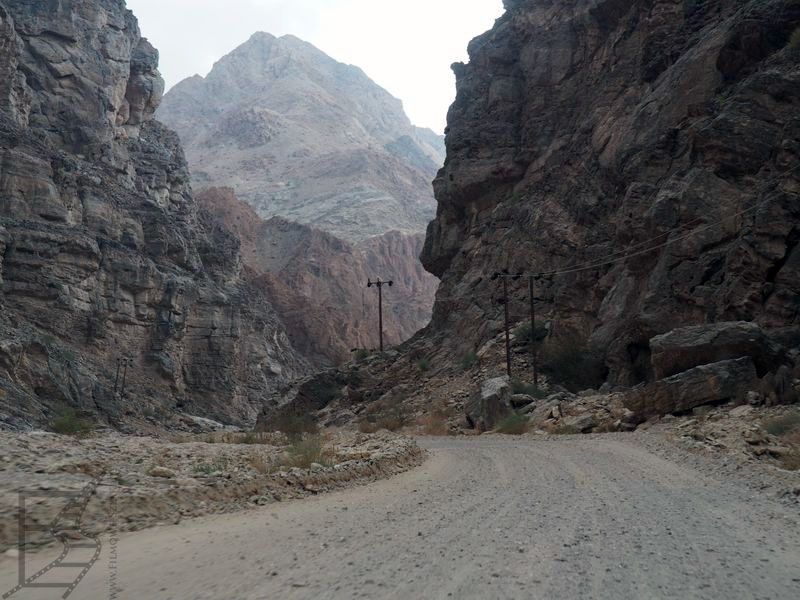 Skrót by GPS w Omanie