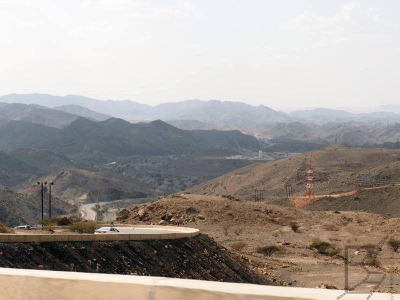 Oman - trasa z Wadi Bani Khalid