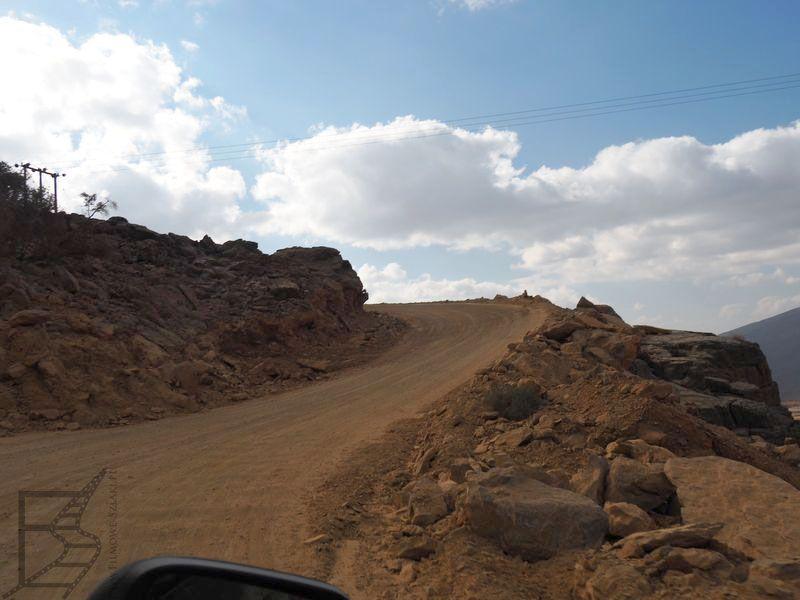 Droga na Dżabal Szams (Oman)