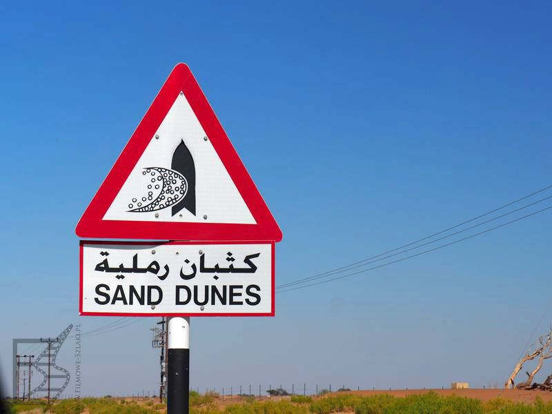 Uwaga na diuny - Oman