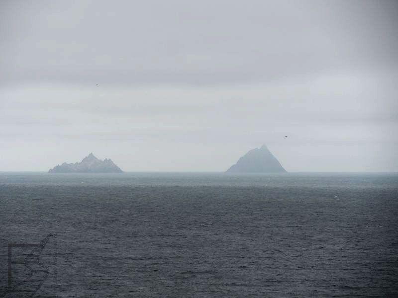 Widok na wyspy Skellig