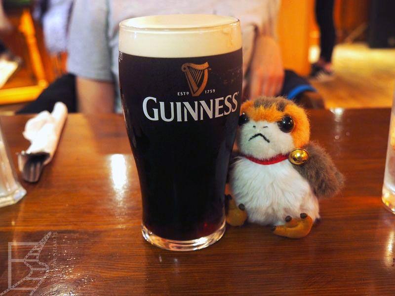 "Irlandzkie piwo w ""The Moorings"" (Portmagee)"