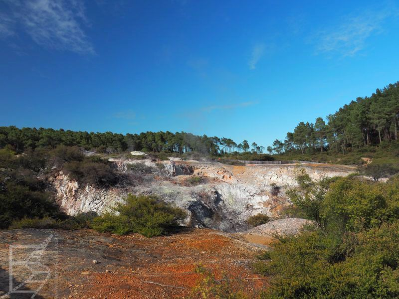 Krajobraz Wai-o-Tapu