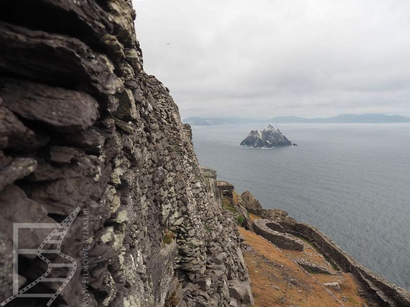 Widok na Little Skellig
