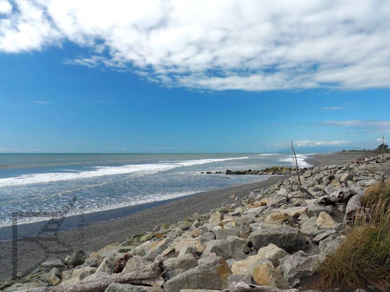 Plaża w Hokitika