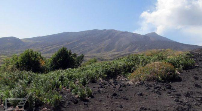 Etna, największy czynny wulkan Europy