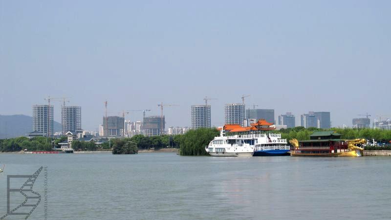 Wielkie Jezioro (w tle Wuxi)
