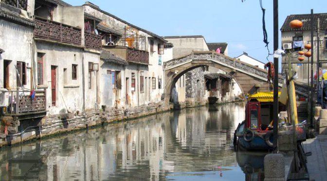 Suzhou, orientalna Wenecja i chińskie ogrody