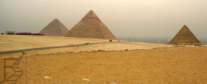 Piramidy egipskie (Giza, Egipt)