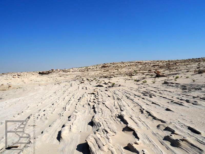 Fossil's Rock niedaleko Abu Zabi