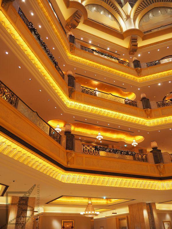 Wnętrza Emirates Hotel