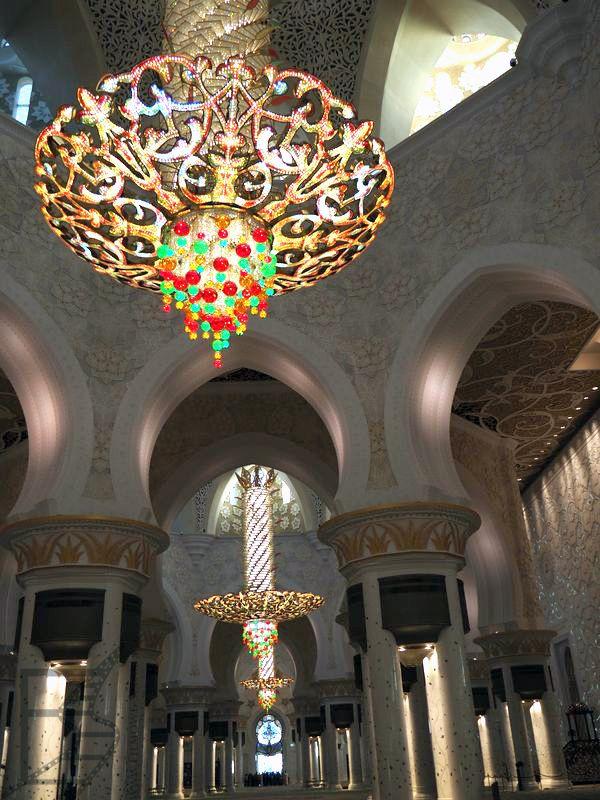 Wnętrza meczetu