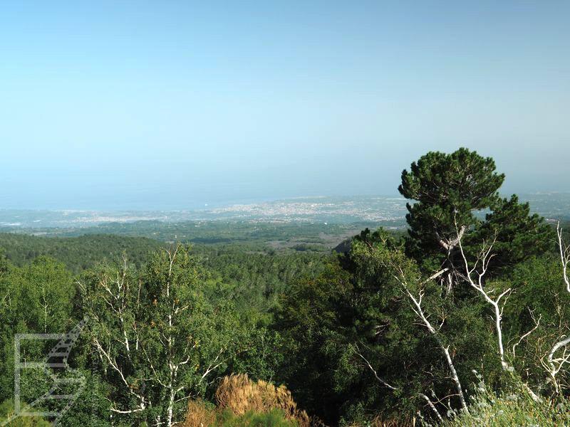 Okolice Etny widziane z góry